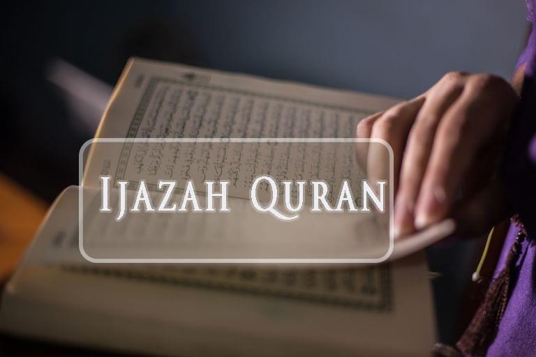 Ijazah quran
