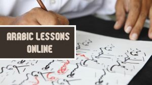 Arabic lessons online