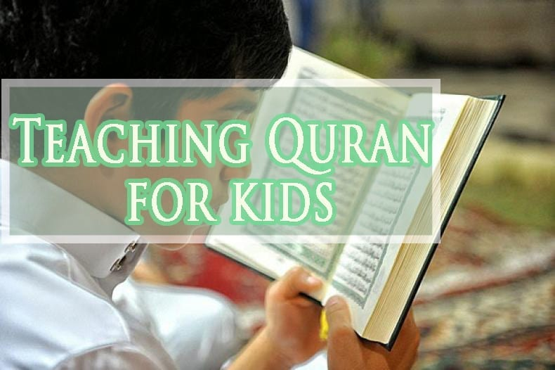 Teaching quran for kids