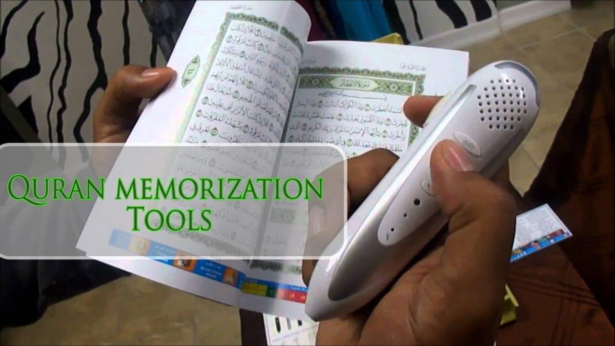 Quran memorization tools