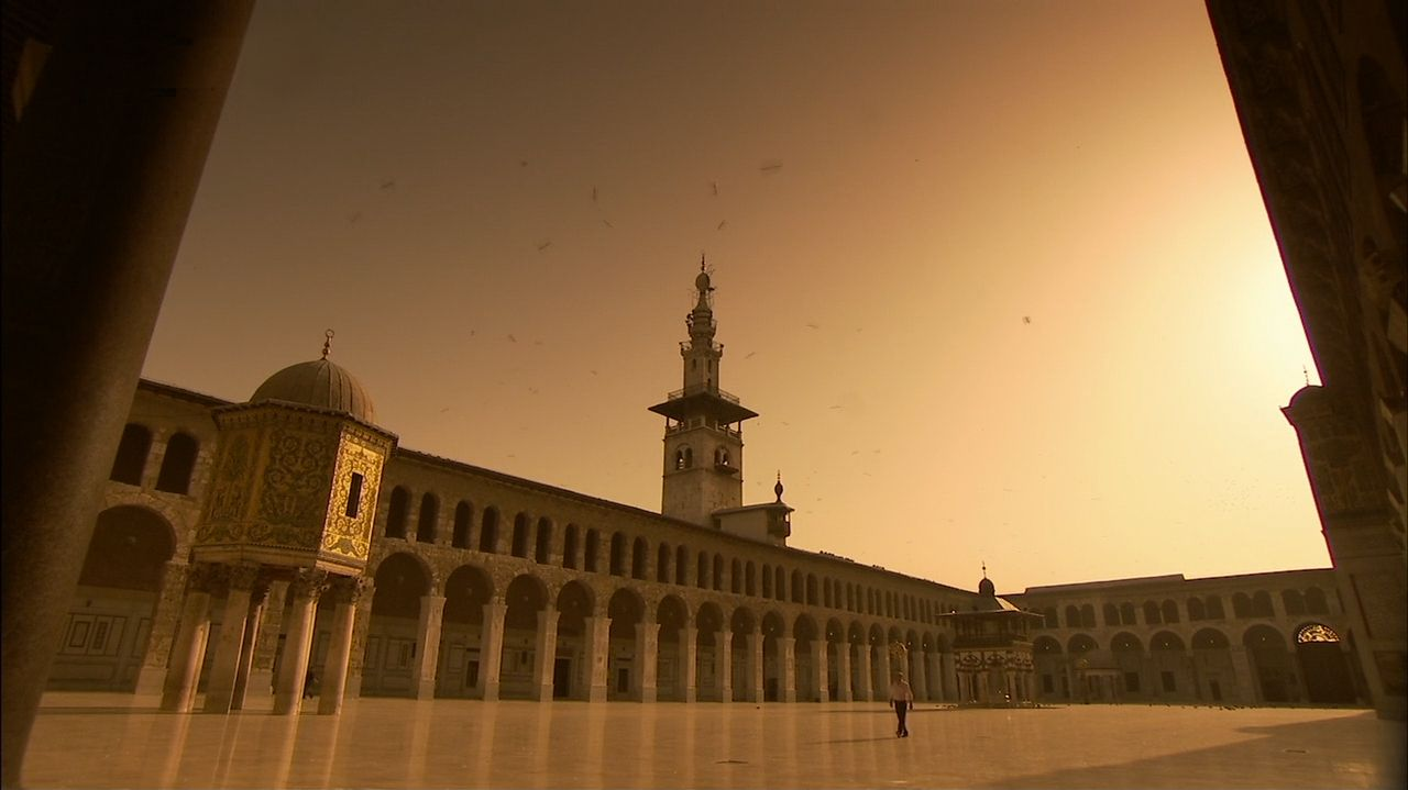 mosque grounds
