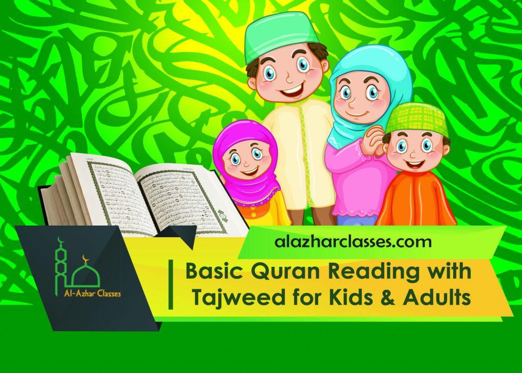 Quran Tajweed for Kids & Adults