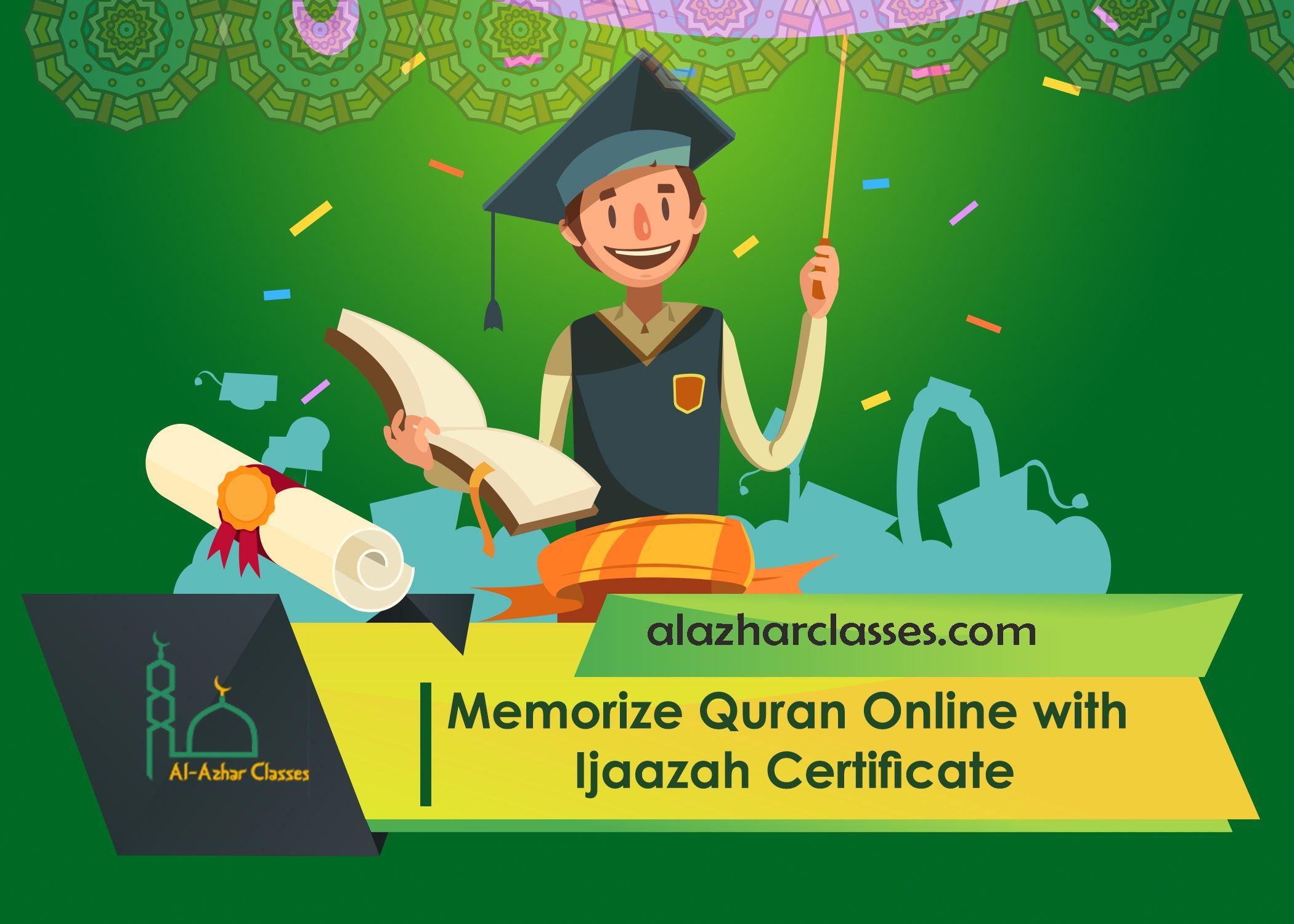 Memorize Quran Online With Ijaazah Certificate